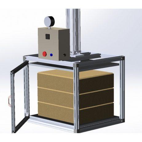 Machine pour compression - gerbage