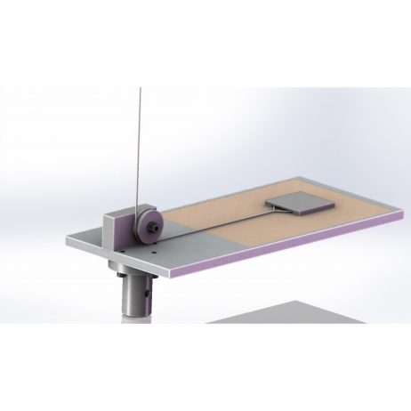 Plateau mesure coefficient frottement dynamique