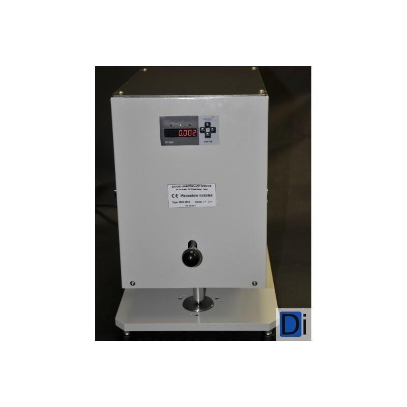 Micromètre motorisé haute précision - Sms-Labo